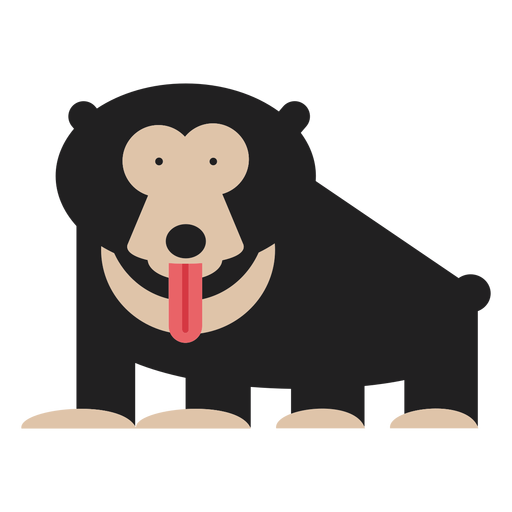 Sloth bear illustration Transparent PNG
