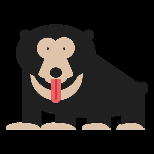 Sloth bear illustration Transparent PNG