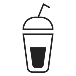 Smoothie Cup flach Symbol