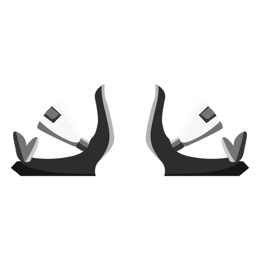 Snowboard bindings icon Transparent PNG