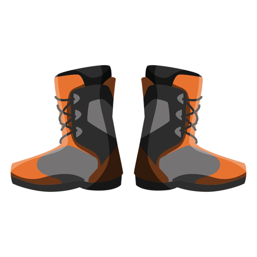 Snowboard boots icon Transparent PNG