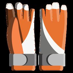 Ícone de luvas de snowboard