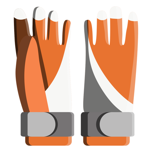 Snowboard gloves icon Transparent PNG