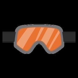 Snowboard goggles icon