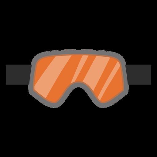 Icono de gafas de snowboard Transparent PNG