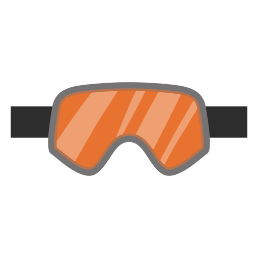 Snowboard goggles icon Transparent PNG