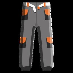 Icono de pantalones de snowboard