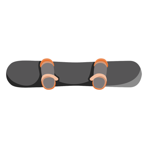 Snowboard top view icon Transparent PNG