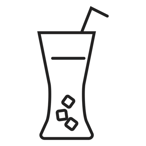 Soft drink glass icon Transparent PNG