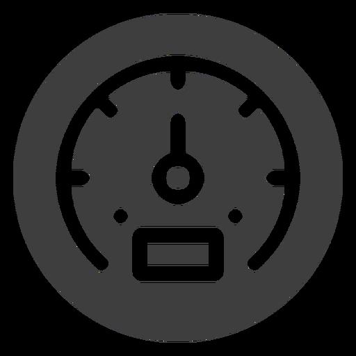 Ícone do medidor de velocidade Transparent PNG