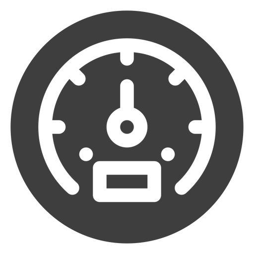 Speed meter icon Transparent PNG