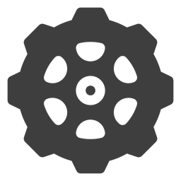 Sprocket cog icon