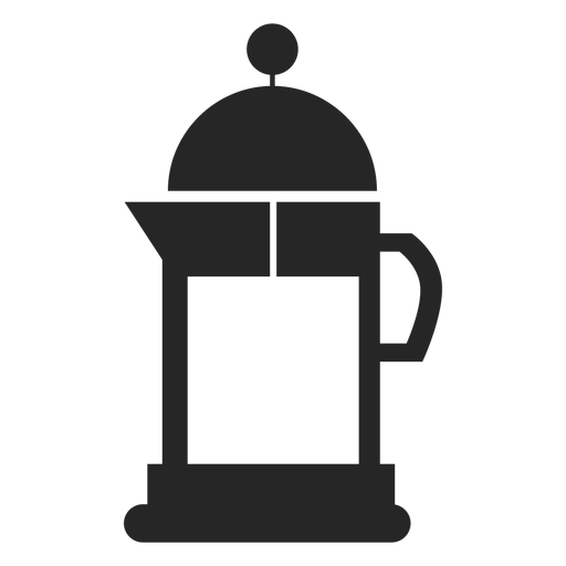 Stovetop coffee maker flat icon Transparent PNG