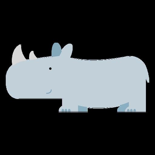 Ilustración de rinoceronte de sumatra Transparent PNG