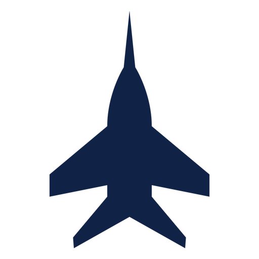 Super hornet airplane top view silhouette Transparent PNG