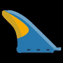 Ícone de barbatana de prancha de surf