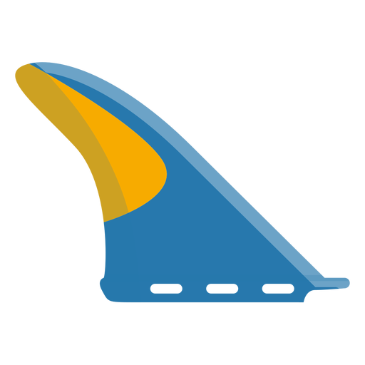 Icono de aleta de tabla de surf Transparent PNG