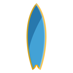 Surf board icon