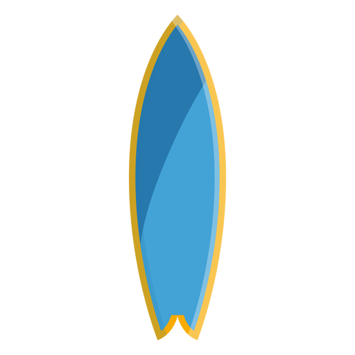Surf board icon Transparent PNG