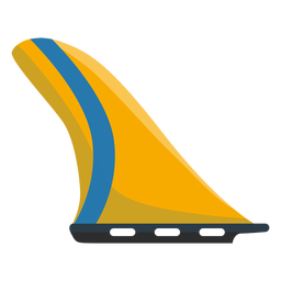 Surf fin icon