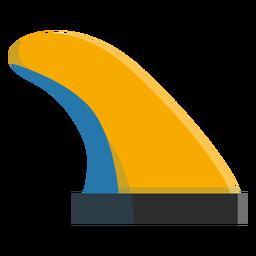 Surfbrettflosse-Symbol