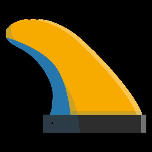 Ícone de barbatana de prancha Transparent PNG