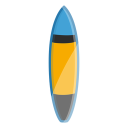 Elementos de surf de ícone de prancha de surf