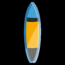 Ícono de tabla de surf elementos de surf