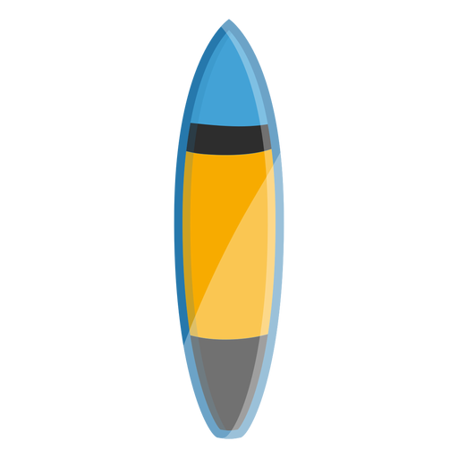 Surfboard icon surf elements Transparent PNG