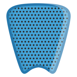 Surfboard traction pad icon