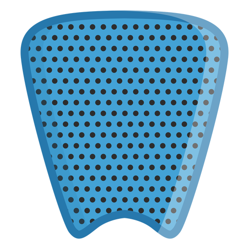 Surfboard traction pad icon Transparent PNG
