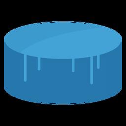 Surfboard wax icon