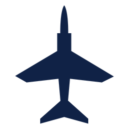 T 45 airplane top view silhouette