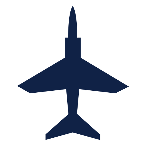T 45 airplane top view silhouette Transparent PNG