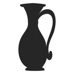 Tall jug flat icon
