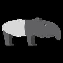 Tapir ilustracion