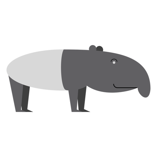 Tapir illustration Transparent PNG