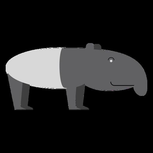 Tapir ilustracion Transparent PNG