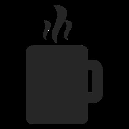 Icono plano de la taza de té Transparent PNG