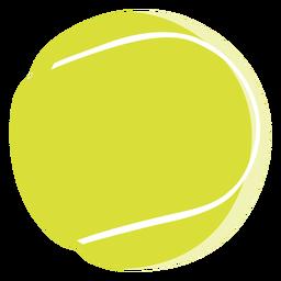 Elementos de tênis de ícone de bola de tênis