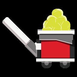 Icono de la máquina de pelota de tenis