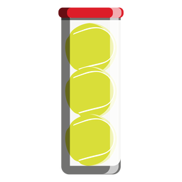 Tennis ball tube icon