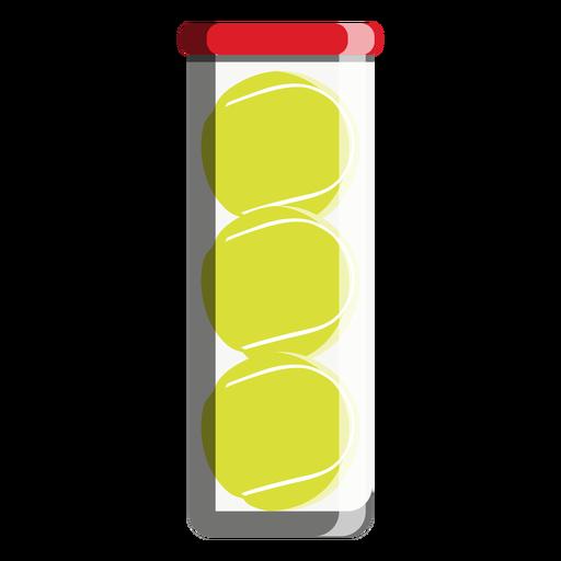Icono de tubo de pelota de tenis Transparent PNG