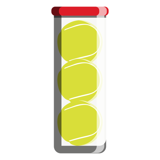 Tennis ball tube icon Transparent PNG