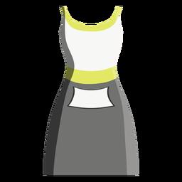 Ícone de vestido de tênis