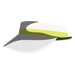 Ícone de viseira de jogo de tênis
