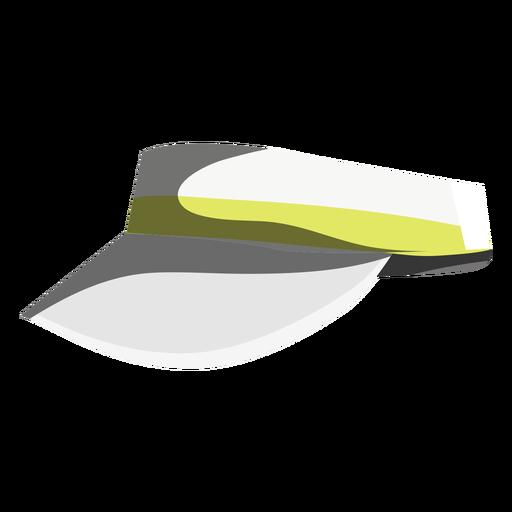 Icono de visera de partido de tenis Transparent PNG