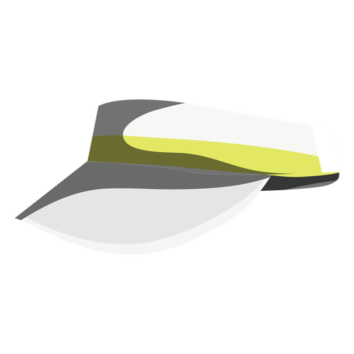 Tennis match visor icon Transparent PNG