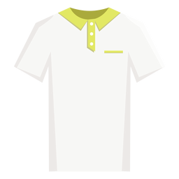 Tennis polo shirt icon