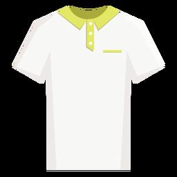 Tennis polo shirt icon